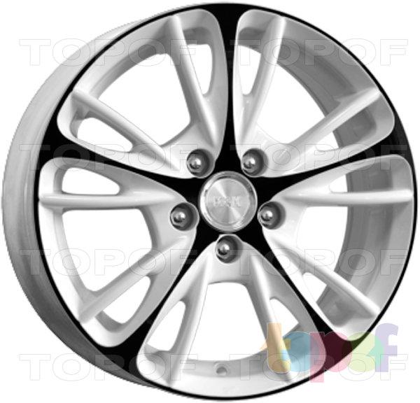 Колесные диски КиК Мулен Руж. Цвет венге