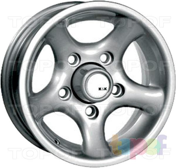 Колесные диски КиК Надежда. Изображение модели #2