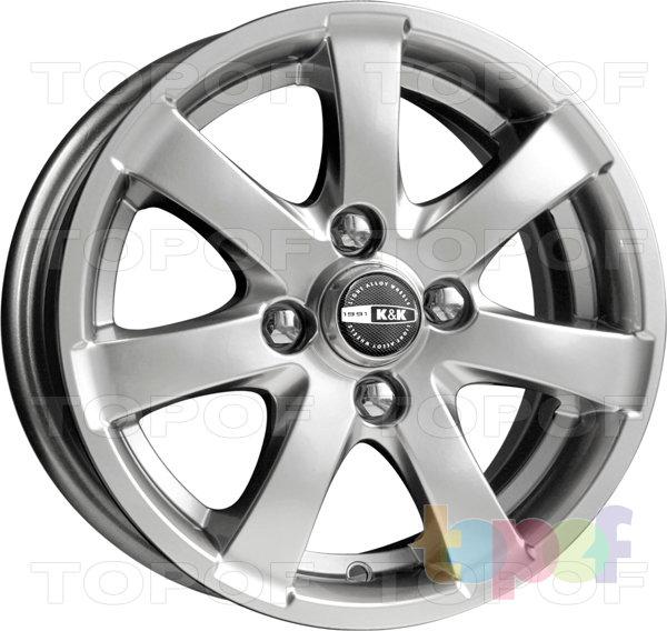 Колесные диски КиК Нега. Изображение модели #1