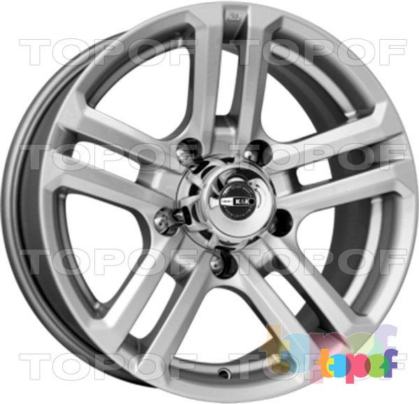 Колесные диски КиК Палладика. Цвет колесного диска - Блэк платинум