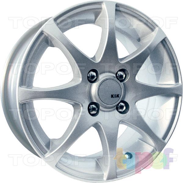 Колесные диски КиК Полярис. Изображение модели #3