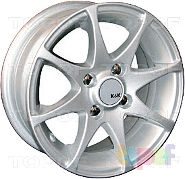 Колесные диски КиК Полярис. Изображение модели #4