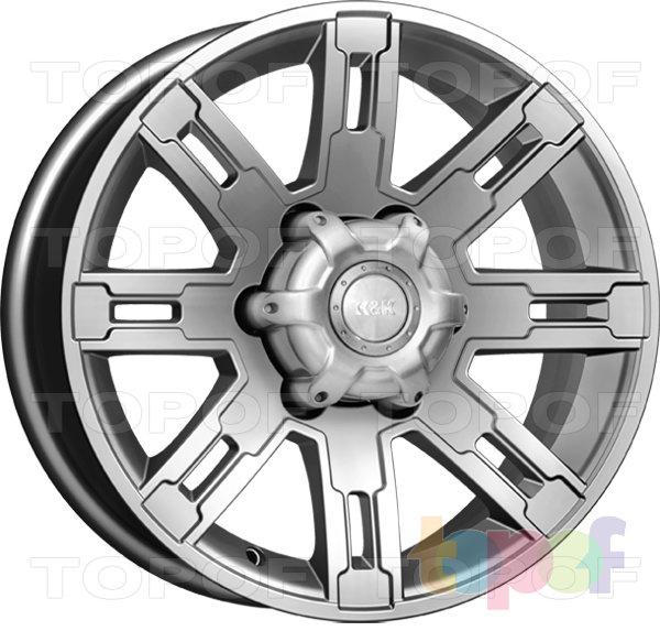 Колесные диски КиК Полюс. Изображение модели #1