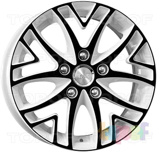 Колесные диски КиК Рефлекс. Цвет венге