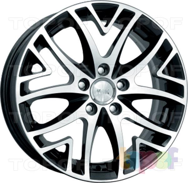 Колесные диски КиК Рефлекс. цвет алмаз черный