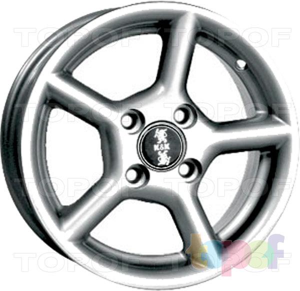 Колесные диски КиК Регата. Изображение модели #1