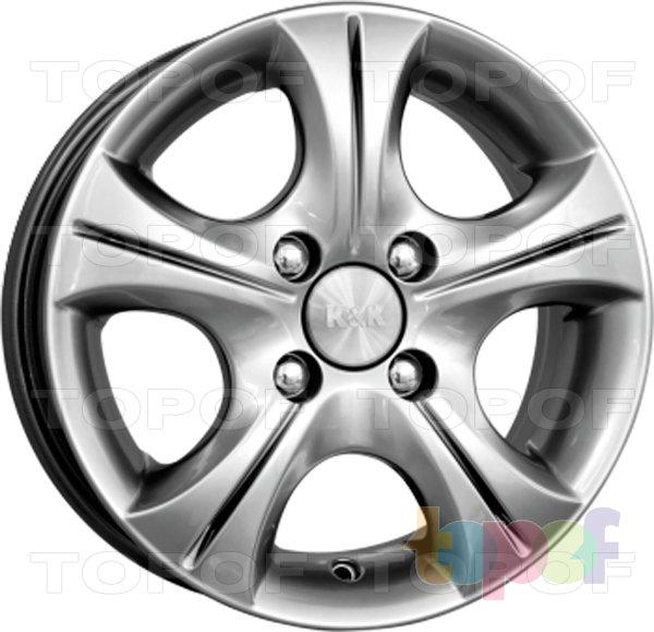 Колесные диски КиК Реверс. Цвет блек платинум