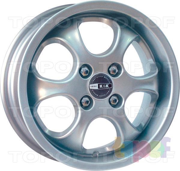 Колесные диски КиК Рондо. Изображение модели #1