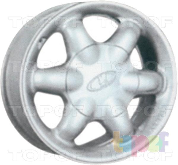 Колесные диски КиК Секунда. Изображение модели #2