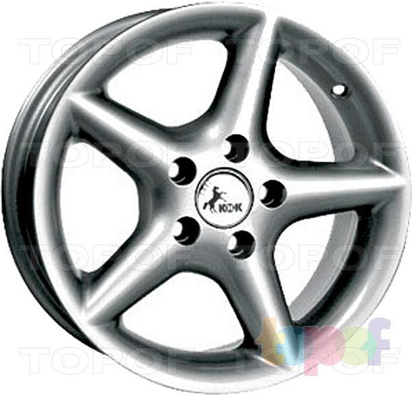 Колесные диски КиК Софтлайн. Изображение модели #2