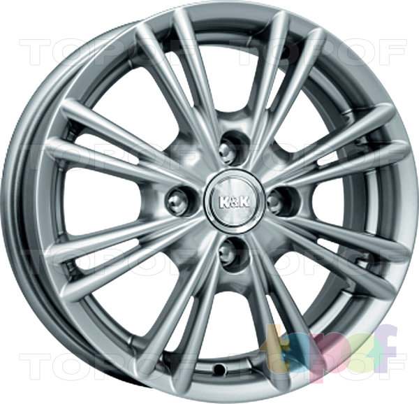 Колесные диски КиК Сокол. Изображение модели #2