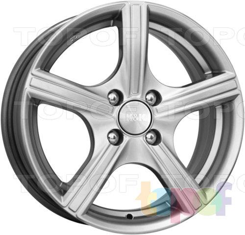 Колесные диски КиК Спринт. Цвет: блэк платинум