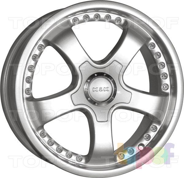 Колесные диски КиК Тамерлан. Изображение модели #1