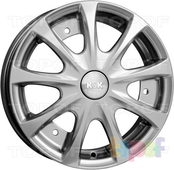 Колесные диски КиК Таврия. Изображение модели #1