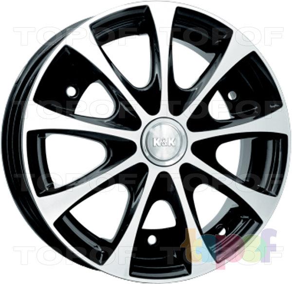 Колесные диски КиК Таврия. Изображение модели #2