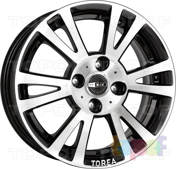 Колесные диски КиК Тореа. Изображение модели #1