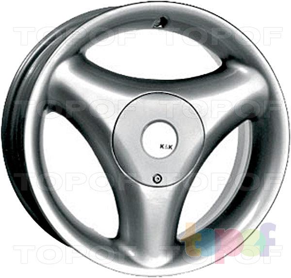 Колесные диски КиК Трио. Изображение модели #1