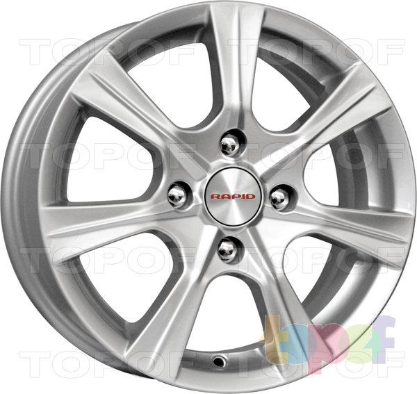 Колесные диски КиК Турин. Изображение модели #1