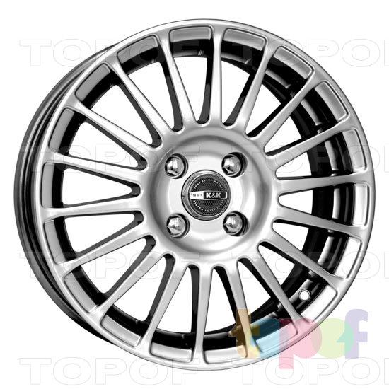 Колесные диски КиК Турнео. Изображение модели #2