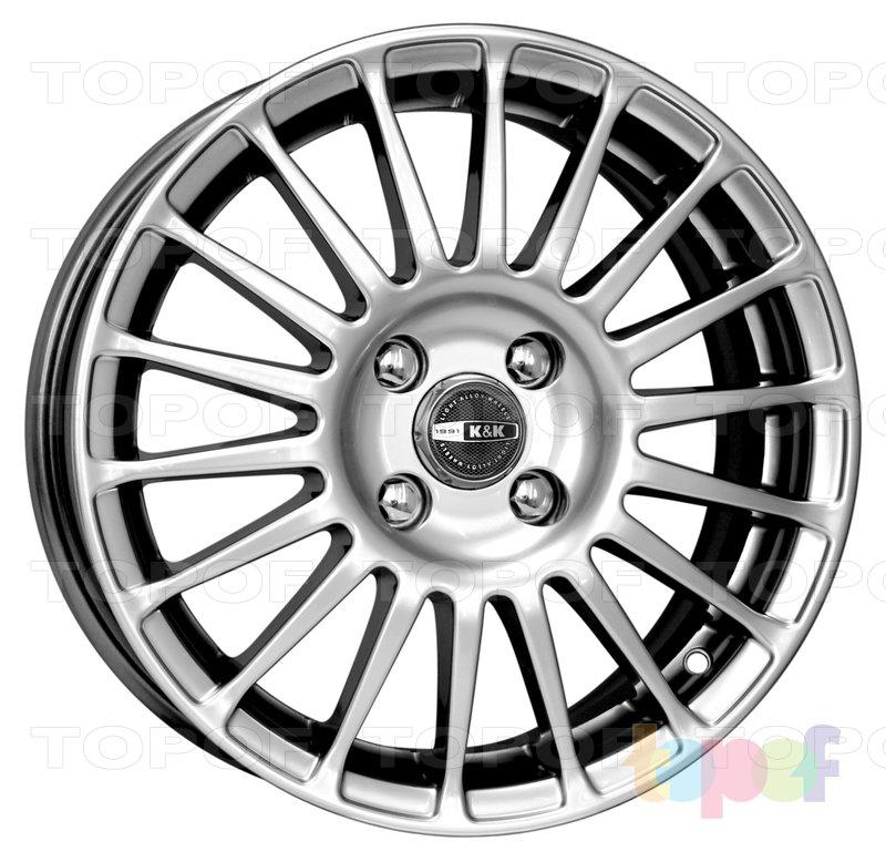 Колесные диски КиК Турнео. Изображение модели #3