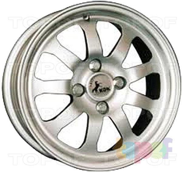 Колесные диски КиК Турнир. Изображение модели #1