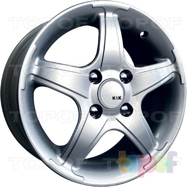 Колесные диски КиК Тверца. Изображение модели #1