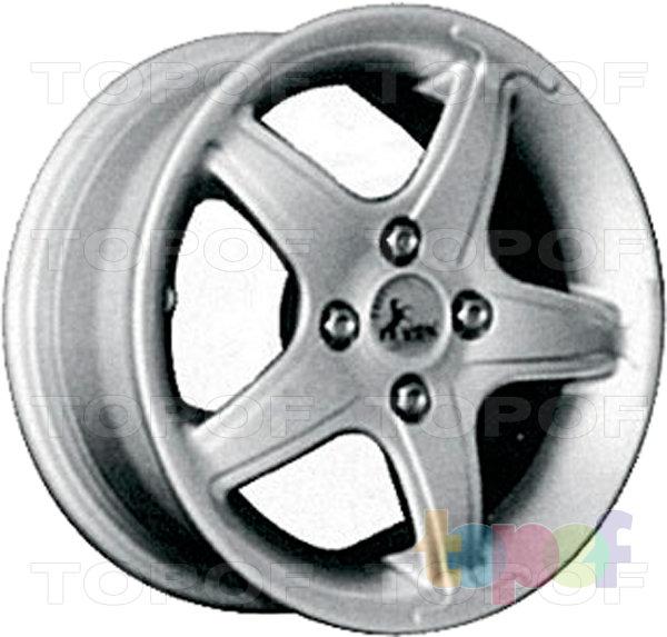 Колесные диски КиК Тверца. Изображение модели #2