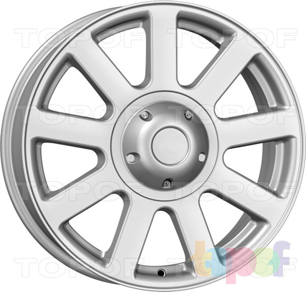 Колесные диски КиК УльЗИС. Изображение модели #1