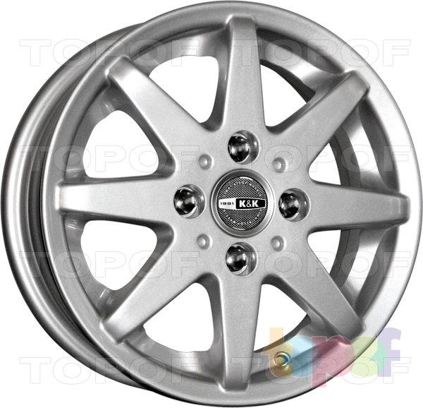 Колесные диски КиК Верса. Изображение модели #1