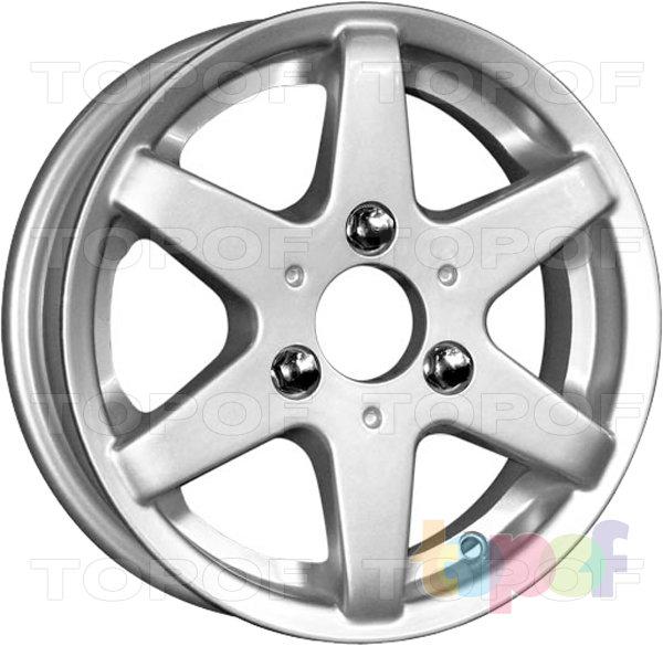 Колесные диски КиК Веста. Изображение модели #1