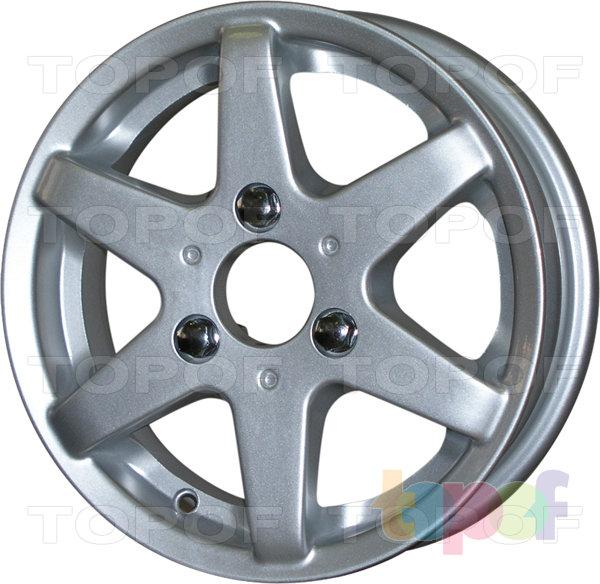 Колесные диски КиК Веста. Изображение модели #2