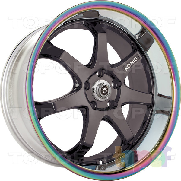 Колесные диски Konig AfterBurner (H18). Цвет SMGMTR
