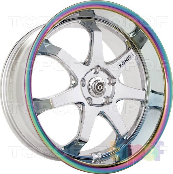 Колесные диски Konig AfterBurner (H18). Цвет GBTR