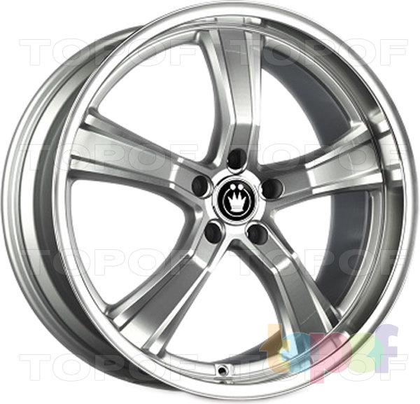 Колесные диски Konig AirStrike (S933). Цвет серебряный