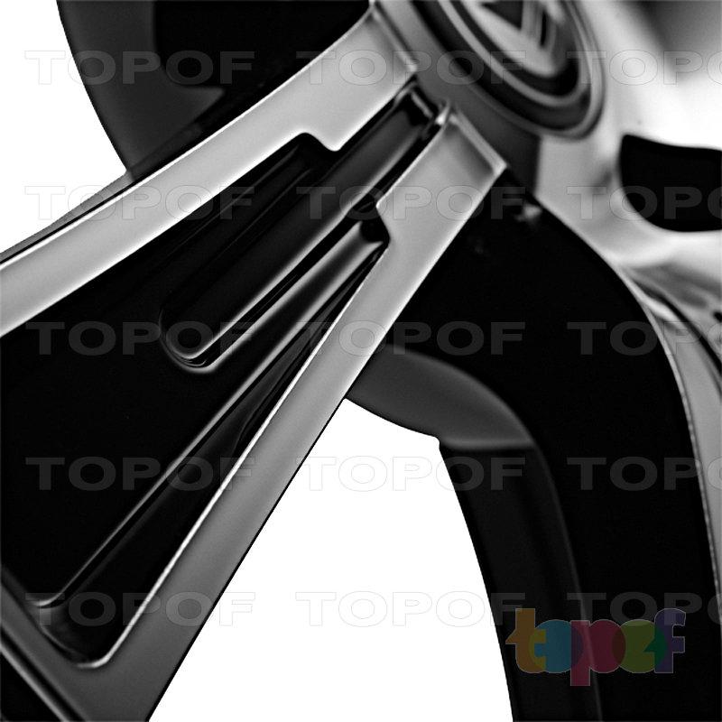 Колесные диски Konig Crown (SL43). Лучи (крупно)