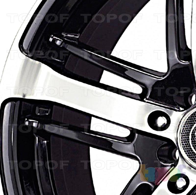 Колесные диски Konig Further 5 (SF68). Лучи (крупно)