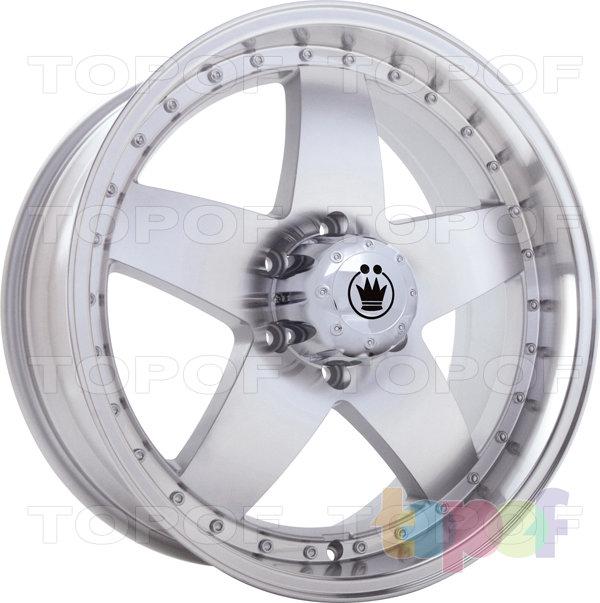 Колесные диски Konig Highroad (SH03). Цвет - серебро