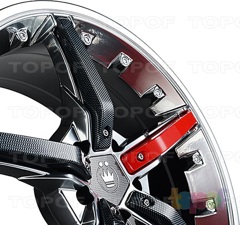 Колесные диски Konig Hotswap (SF91). Изображение модели #2