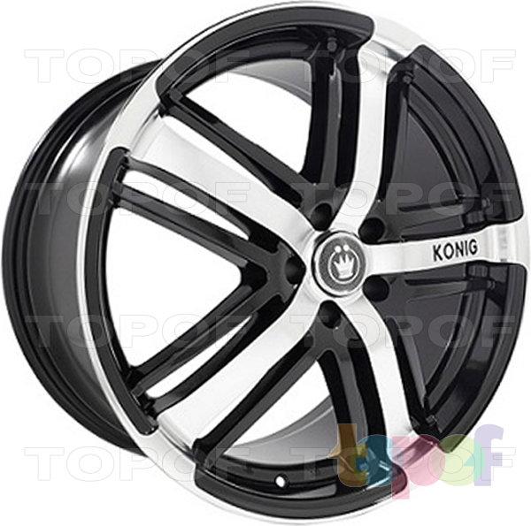 Колесные диски Konig Kudos (SF67). Изображение модели #1