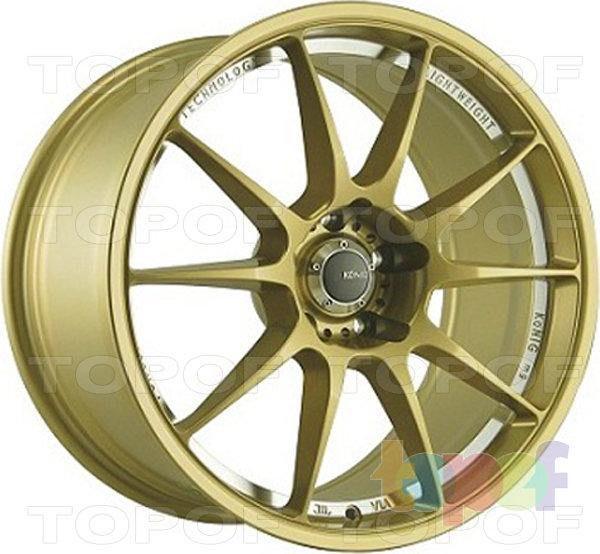 Колесные диски Konig Milligram (N940). Цвет золотой
