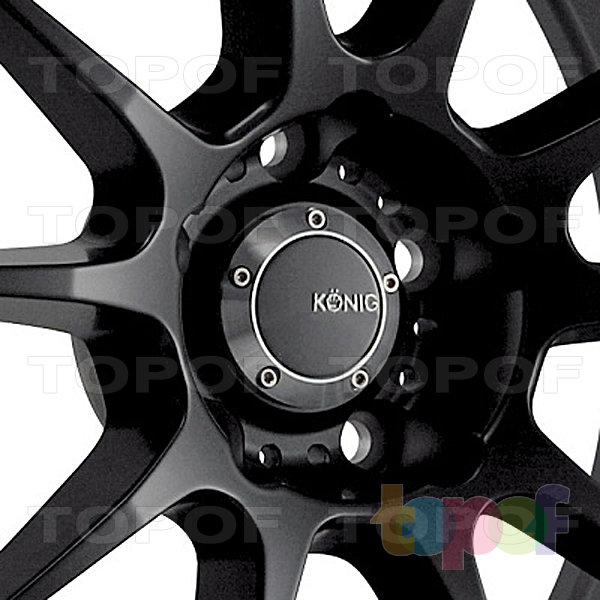 Колесные диски Konig Milligram (N940). Изображение модели #2
