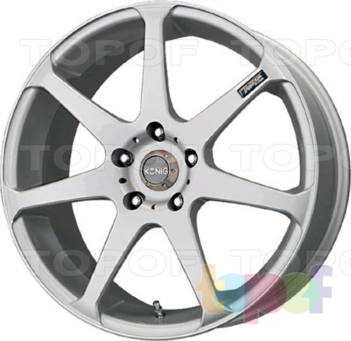 Колесные диски Konig Tantrum. Изображение модели #1