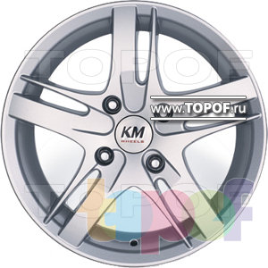 Колесные диски Kormetal Formula (KM 805). Изображение модели #2
