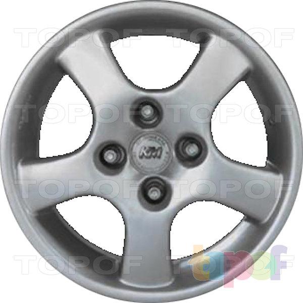 Колесные диски Kormetal KM 555. Изображение модели #1