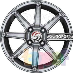 Колесные диски Kormetal Lotus (KM 675). Изображение модели #2