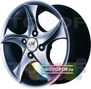 Колесные диски Kormetal Tempest (KM 444). Изображение модели #1