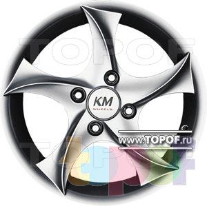 Колесные диски Kormetal Tempest (KM 444). Изображение модели #2