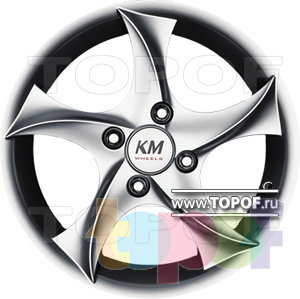 Колесные диски Kormetal Tempest (KM 445). Изображение модели #2