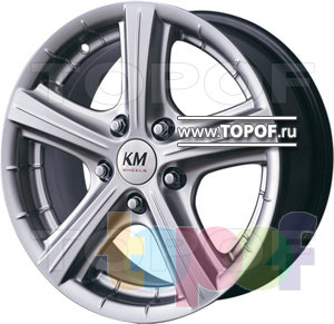 Колесные диски Kormetal Tornado (KM 245). Изображение модели #1