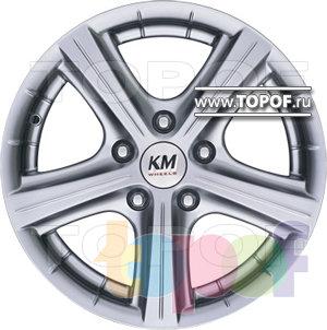Колесные диски Kormetal Tornado (KM 245). Изображение модели #2